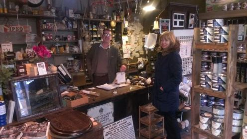 Dickinson's Period House Shop in Corve St., Ludlow